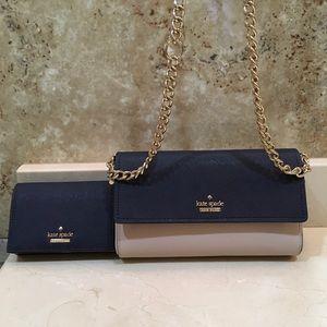 Kate Spade Crossbody/ Wallet Set